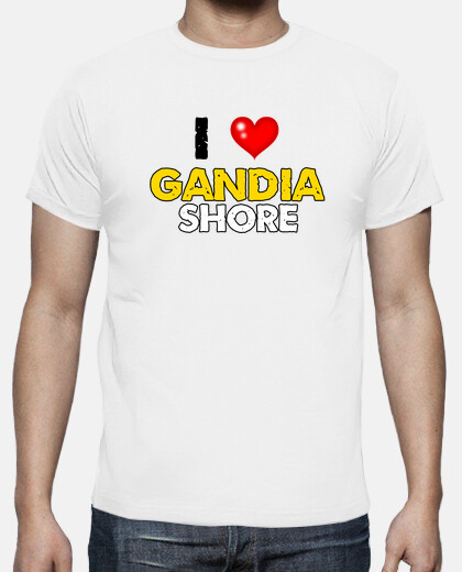 Camisetas i love Gandia Shore - Chico