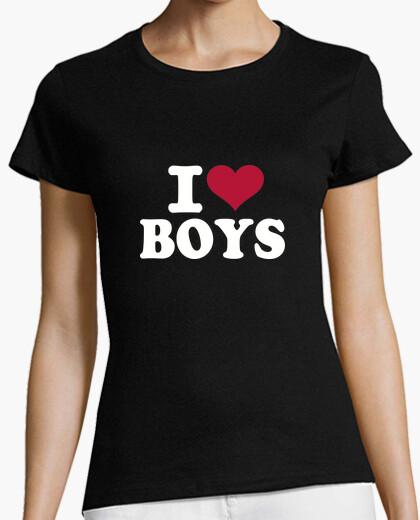 Tee-shirt i love garçons