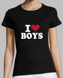 i love garçons