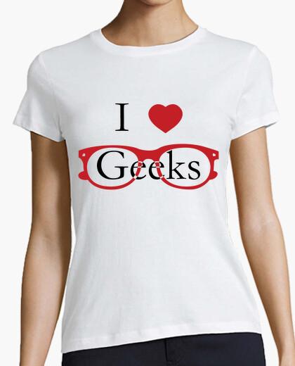 T-shirt i love geek