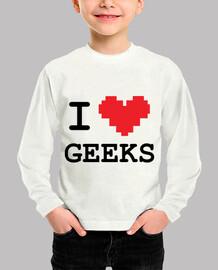 i love geeks / gaming geek gamer