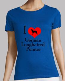 i love german longhaired pointer