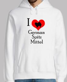 I love german spitz mittel