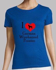 I Love German Wirehaired Pointer