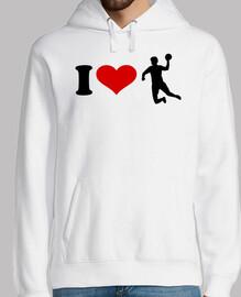 I love Handball player