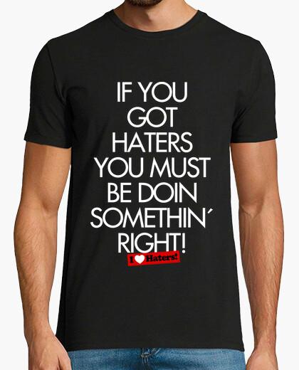 I Love Haters - Camiseta Rubius