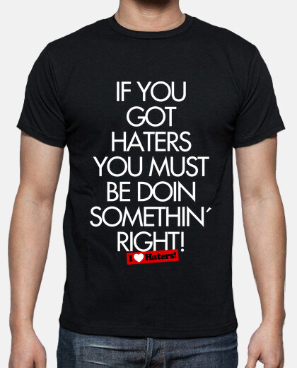 i love haters - rubius shirt