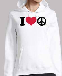 I love heart Peace