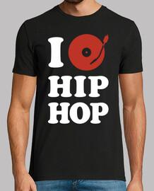 i love hip - hop (schwarz)