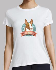 i love i cani, t-shirt donna