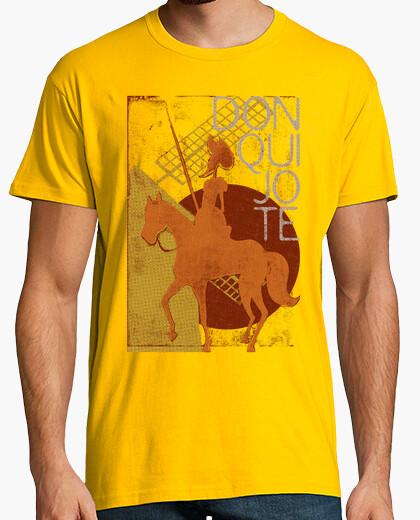 T-shirt i love i libri: don chisciotte