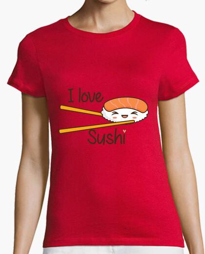 T-shirt i love il sushi