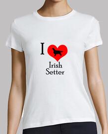 I Love Irish Setter