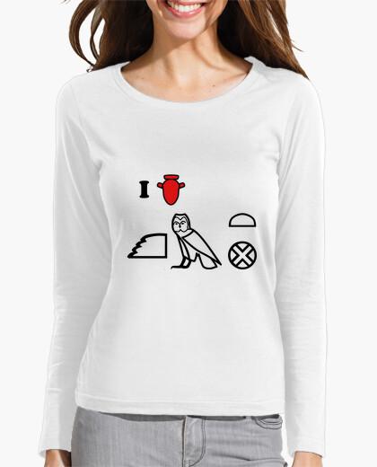 Camiseta I love Kemet (rojo)