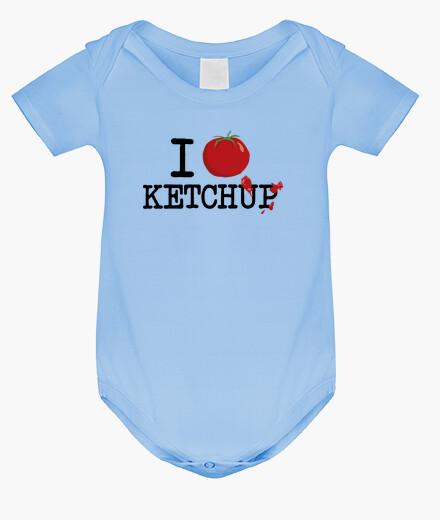 Ropa infantil I love ketchup