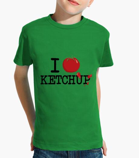 Vêtements enfant I love ketchup