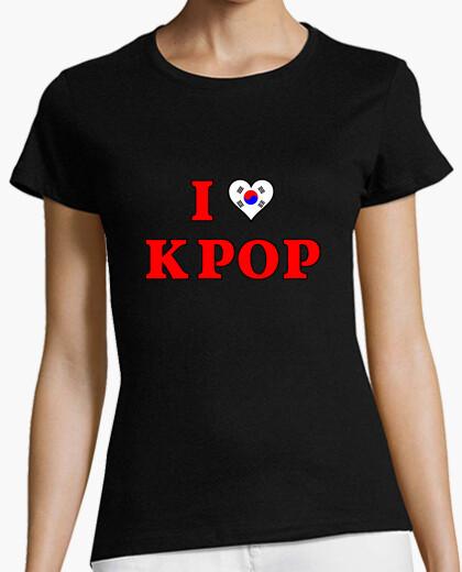 Camiseta I love KPOP