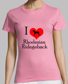 i love la crête Rhodesian back