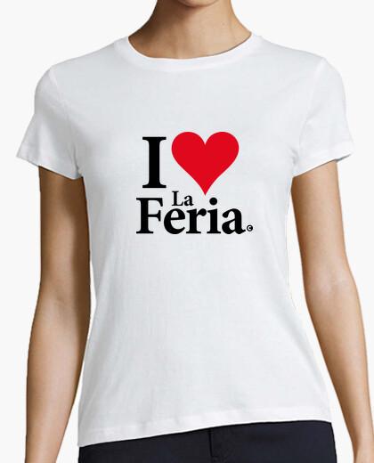 Camiseta I love la feria