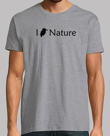 i love la natura (nero - uomo)