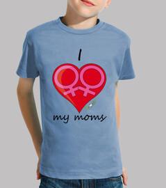 i love le mie mamme
