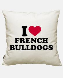 i love les bouledogues français