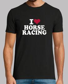 i love les courses de chevaux