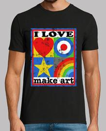 I LOVE MAKE ART
