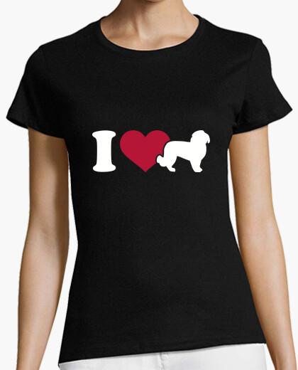 Tee-shirt i love maltais