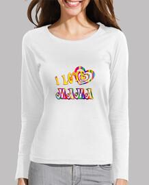 i love mamma camicia