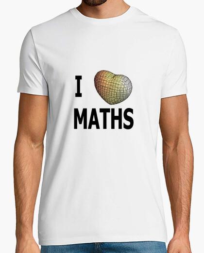 Camiseta I love maths