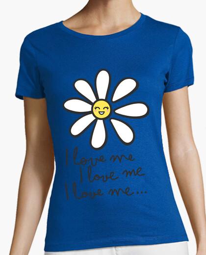 Camiseta I love me...