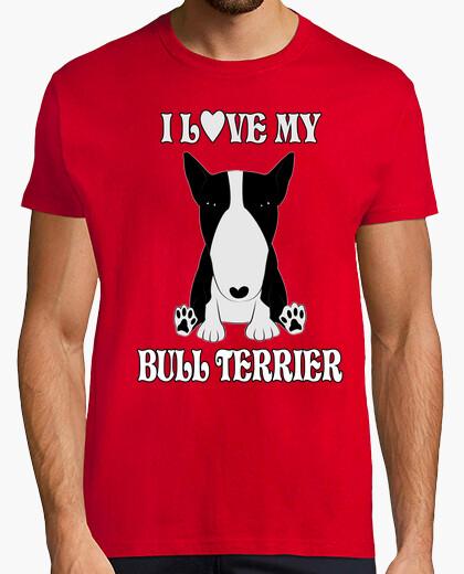 Camiseta I LOVE MI BULL TERRIER NB