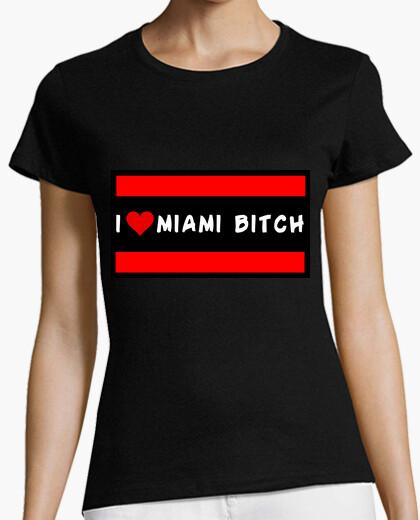 Camiseta I Love Miami Bitch