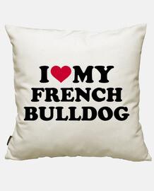 i love mon bouledogue français