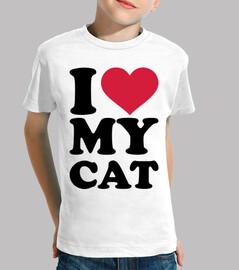 i love mon chat