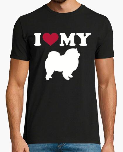 Tee-shirt i love mon chow-chow