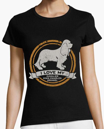Camiseta I love my Cavalier King Charles Spaniel