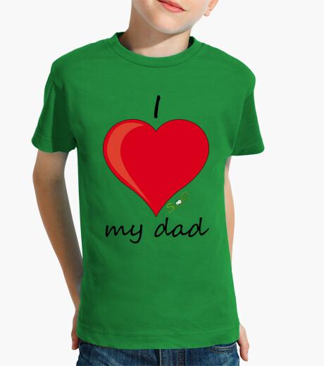 Ropa infantil I love my dad