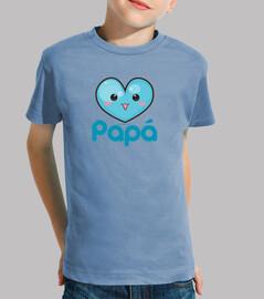 i love my dad blue