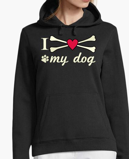 I love my dog hoody