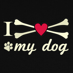Camisetas I love my dog