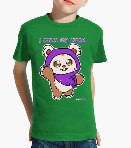 Ropa infantil I love my ewok