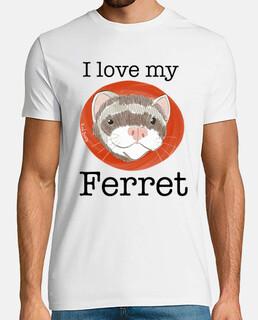 I love my ferret - hurón