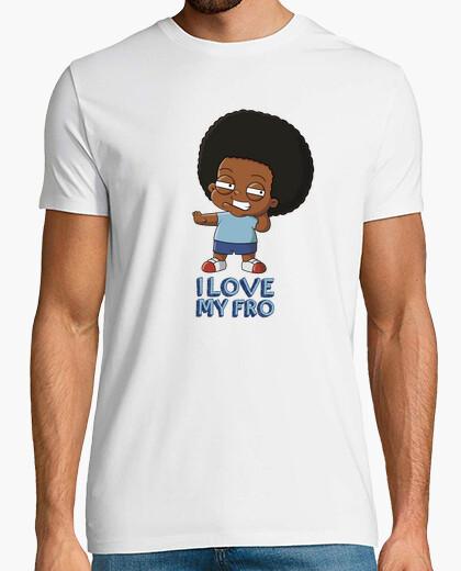 Camiseta I love my fro