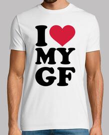 i love my gf fidanzata