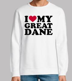 I love my Great Dane