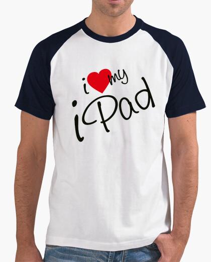 Camiseta I love My Ipadl