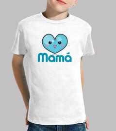 i love my mummy blue