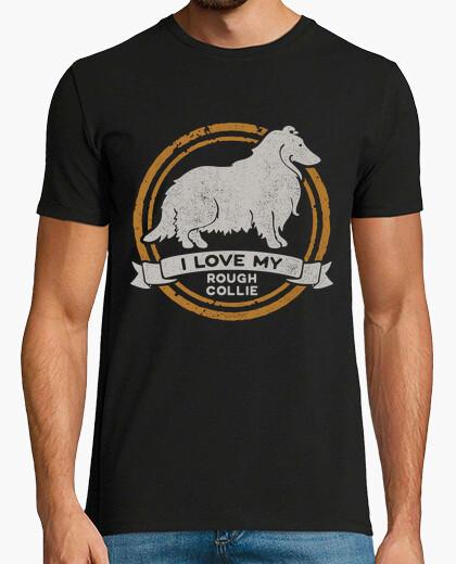Camiseta I love my Rough Collie - Collie de pelo